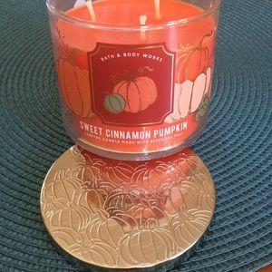 Sweet Cinnamon Pumpkin 3 Wick Candle